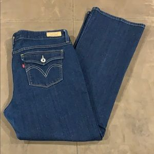 Women's Levi's Low Boot 545 Jeans 16 16M Stretch